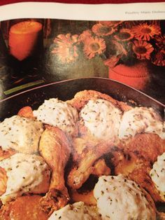 Chicken Fricassee with Dumplings - an economical and tasty main dish that's kid friendly from the Betty Crocker cookbook.