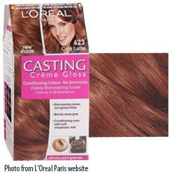 """Pretty Perfect Beauty: REVIEW: L'Oreal Casting Creme Gloss """"623 Cafe Latte"""""""