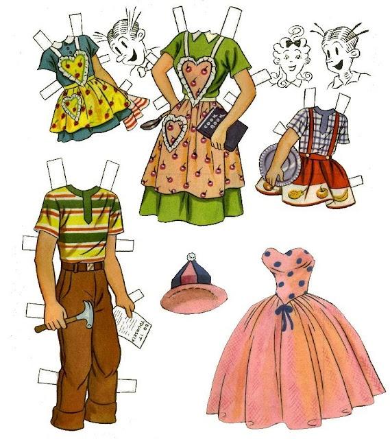 Super 231 best Crafts, paper dolls images on Pinterest | Vintage paper  CZ55