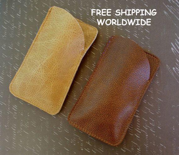 Vintage leather sunglasses case, glass case, leather sunglass protector, leather sunglass case, leather sunnies case, vintage Leather pouch