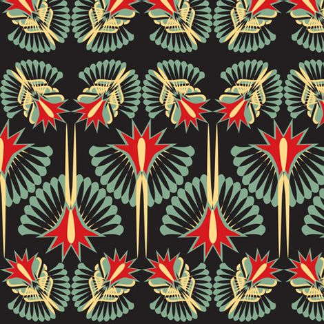 Spoonflower - Fabric by Sophie_buttons