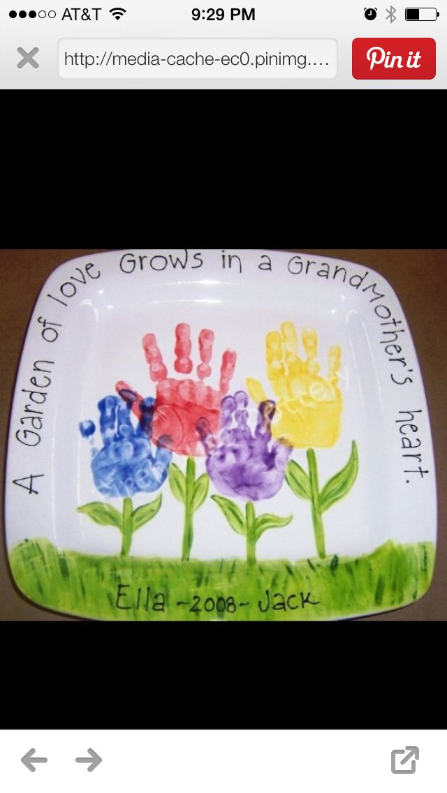 Handprint gift