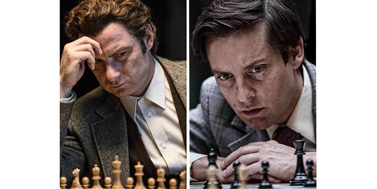 "Pawn Sacrifice - Edward Zwick (Glory) - Match of the Century  American chess phenomenon Bobby Fischer (Tobey Maguire) squares off against his Russian rival Boris Spassky (Liev Schreiber) in the 1972 ""Match of the Century"" in Reykjavik- docudrama   and screenwriter Steven Knight (Eastern Promises). Spassky considered invincible  Fischer world's youngest chess grandmaster at fifteen; at twenty he won the US Championship, achieving the only perfect score in its history"