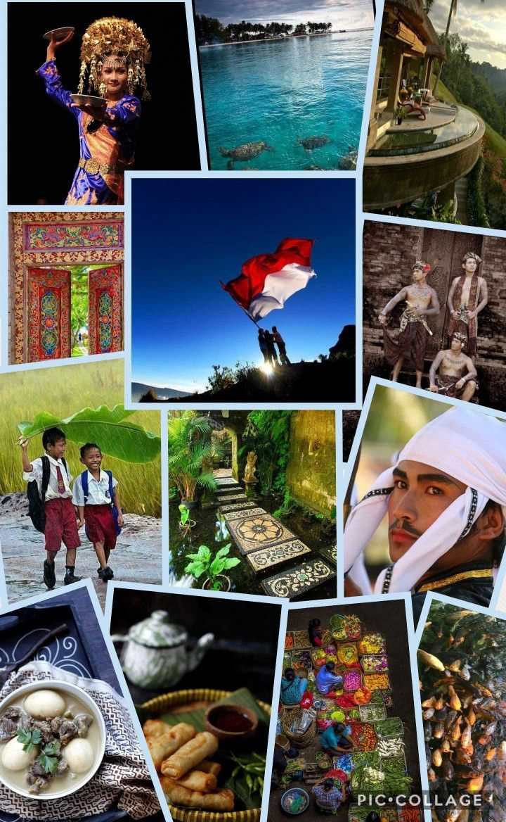 I love Indonesia. Pictures taken from pinterest.