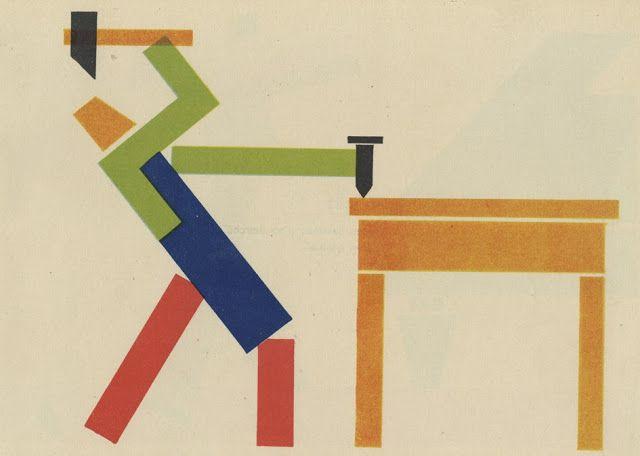 La pintura por el recorte geométrico a base de rectas - Emeterio R. Melendreras