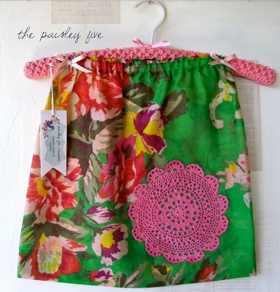 Size 2 cottage chic inspired GIRLS SKIRT with by ThePaisleyFive, $18.00