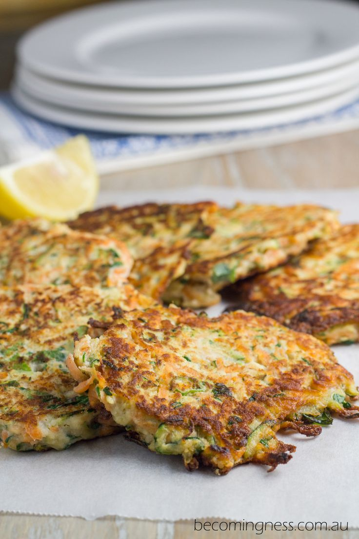 Today's recipe Zucchini & Sweet Potato Fritters are inspired by Pete Evans - The Paleo Way 10 Week Activation program (which my husband and I are currently doing a round of), and also is a recipe that I have been meaning to bring you for some time. After sharing my Quinoa Fritters recipe with you last year, I knew that fritters were a recipe that you were keen on, and have had Zucchini & Sweet Potato Fritters on my must make list. So here they are......