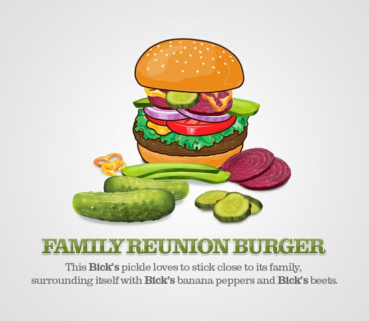 Bick's® Success Stories. See some of the best burgers that Bick's® pickles have called home. http://bit.ly/1gVBqKv