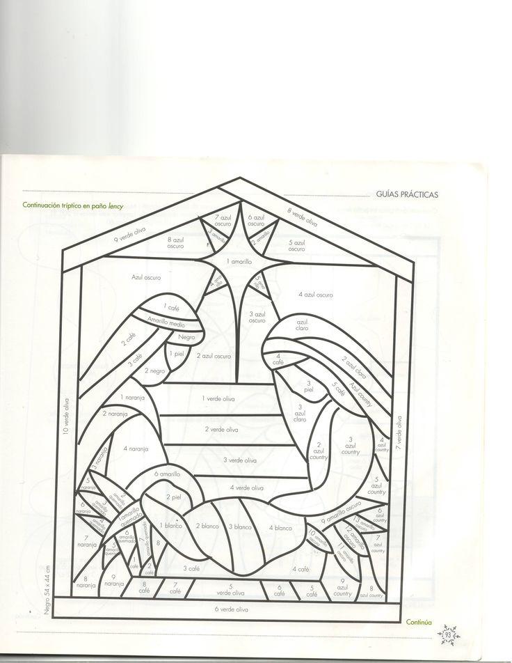 144 best images about nativity silhouettes on pinterest - Patrones para pintar en tela ...