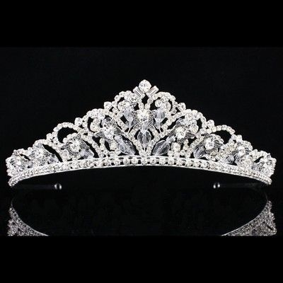 Bridal Pageant Butterfly Rhinestone Crystal Prom Wedding Crown Tiara 8898 | eBay