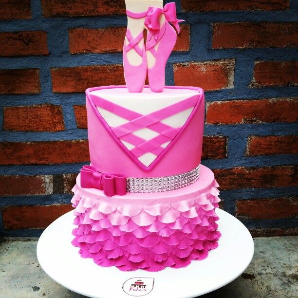 Ballerina Cake