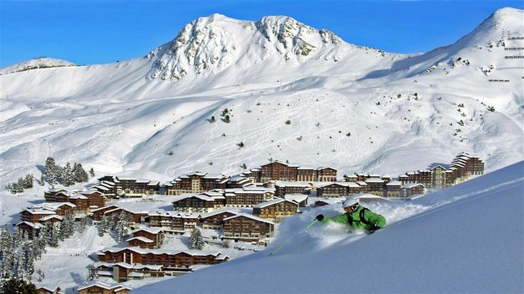 Avrupa'nın En İyi 10 Kayak Merkezi Belirlendi | elitstil - Europe's Best Ski Resorts 2014 La Plagne
