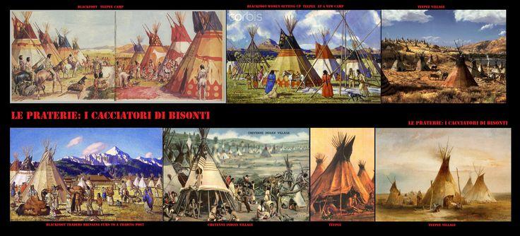 L'accampamento, a seconda delle stagioni le popolazioni nomadi (caccia-racoglitori) si radunavano in grandi accampamenti o si diperdevano in piccoli gruppi famigliari.