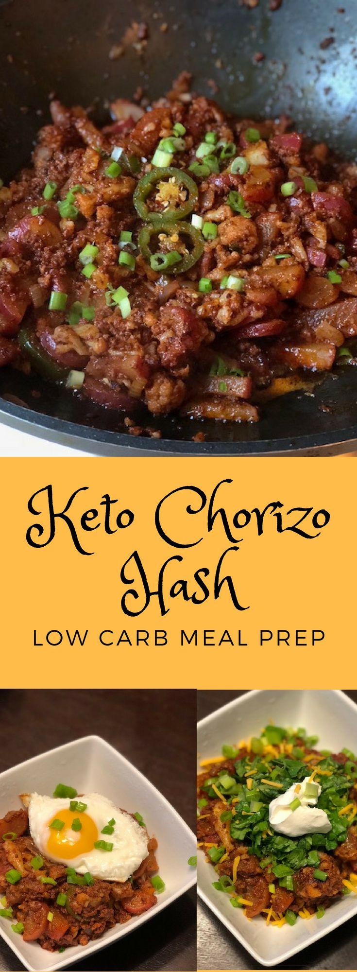 Keto Chorizo Hash