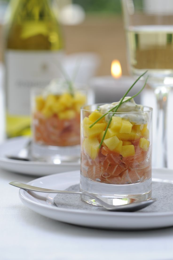 Zalmtartaar met mango - Beproefd.nl !