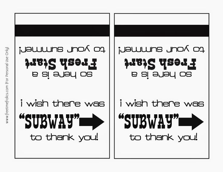 This year for the end of the school year teacher gift, my kids wanted to give there teachers a gift card. We decided to go with Subway gift cards. Not only is it a healthy choice but a great quick on the go meal for a summer picnic. I made these fun gift card holders [...]