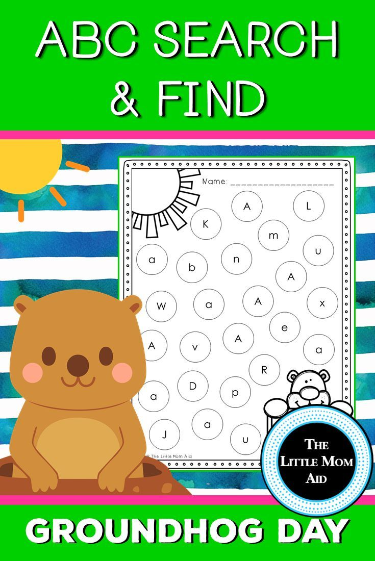 These Fun Groundhog Day Alphabet Letter Search And Find Worksheets Are A Great Activity F Winter Kindergarten Activities Groundhog Day Groundhog Day Activities [ 1100 x 735 Pixel ]