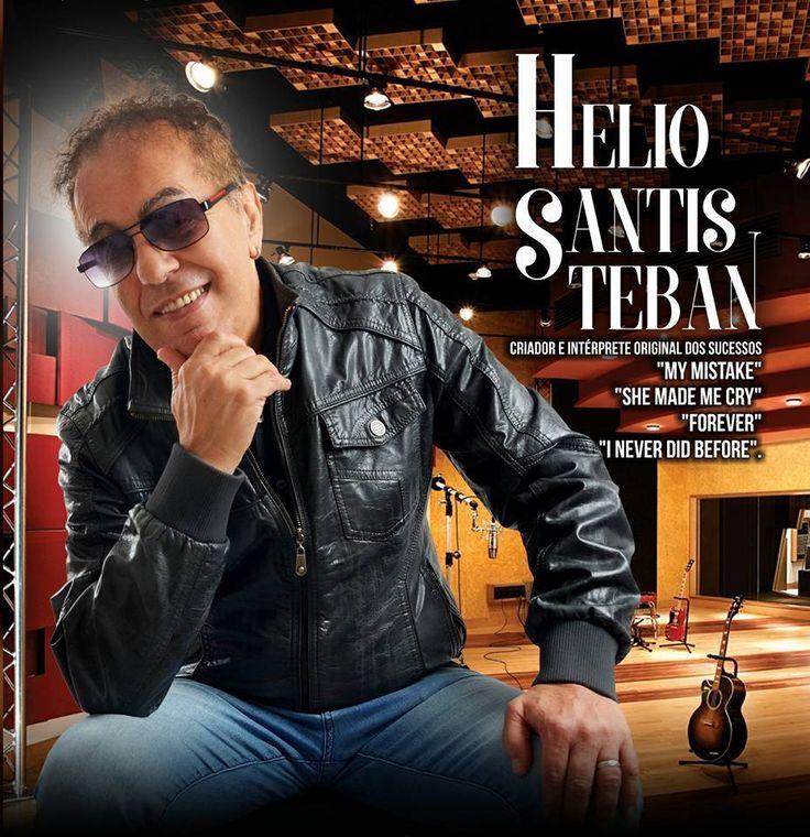 """Helio Santisteban: Uma viagem no túnel do tempo com os """"Pholhas"""". Helio Santisteban é um cantor, compositor, tecladista, arranjador e maestro. Ex-integrante"""