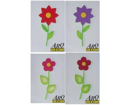 Kwiat 57 CM ! - Kwiaty, Dekoracje Do Przedszkola,Pokój Dziecięcy - Bordowy 10 - ARQ - DECOR | Pracowania Dekoracji ARQ DECOR