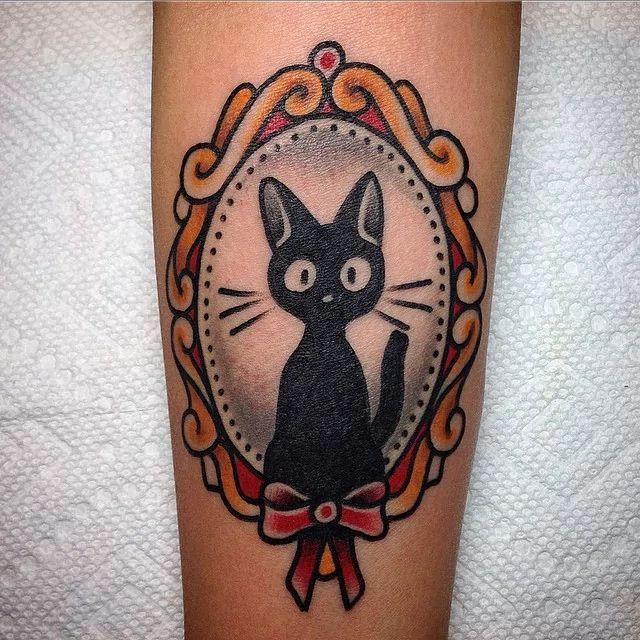 1000 ideas about cat portrait tattoos on pinterest dog for Kiki tattoo artist