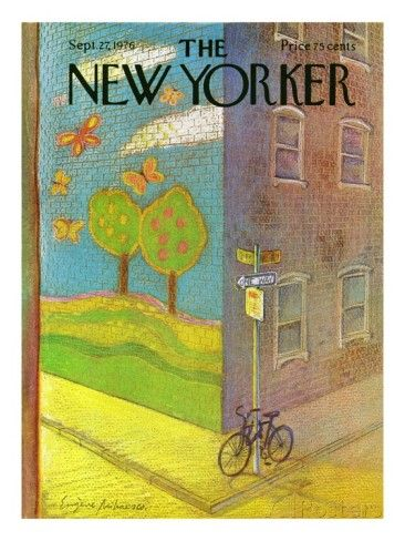 The New Yorker Cover - September 27, 1976 Premium Giclee Print by Eugène Mihaesco at AllPosters.com