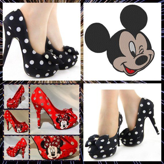 Handmade Mickey Mouse Heels,Mickey