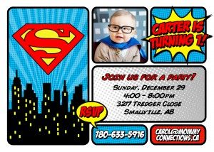 Invite - Superman - Carter 2