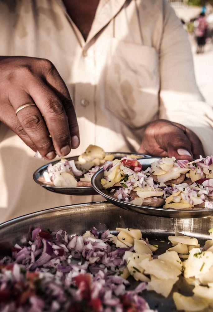 Mumbai Street Food: Dahi Papdi Chaat - Photography by Shriti Banerjee