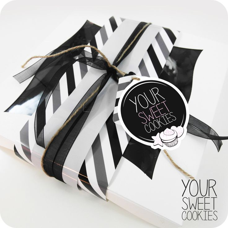 Cookies Box Design http://instagram.com/yoursweetcookiess