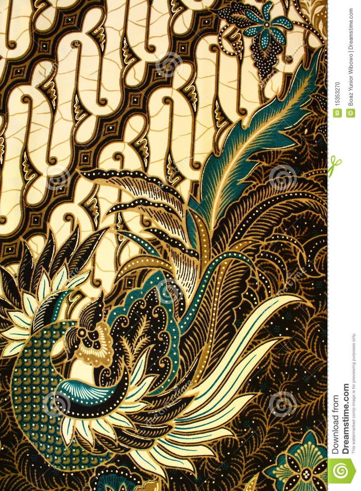 Batik Pattern, Indonesia -