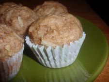 Apple muffins. Soft and yum!