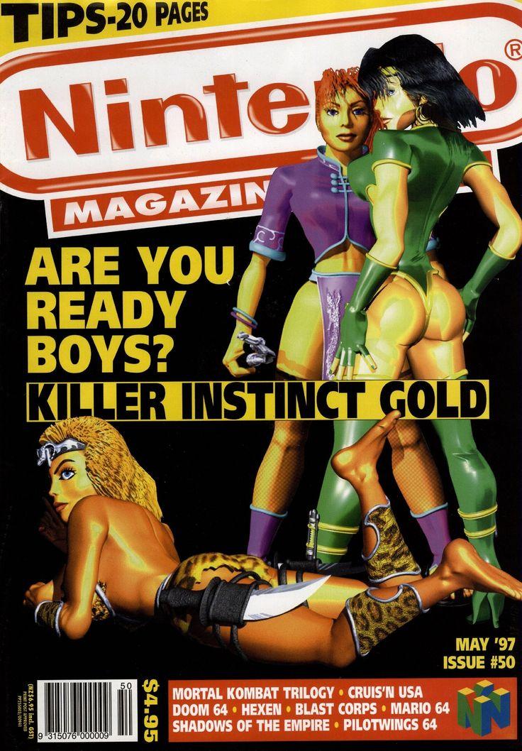 Nintendo Magazine System AU #50, May 1997 - Killer Instinct Gold: Are You Ready, Boys?