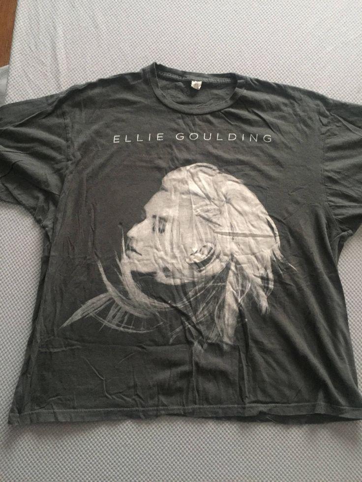 #EllieGoulding - 2013 #TourShirt -XL - Indie -#Divergent #bandshirt