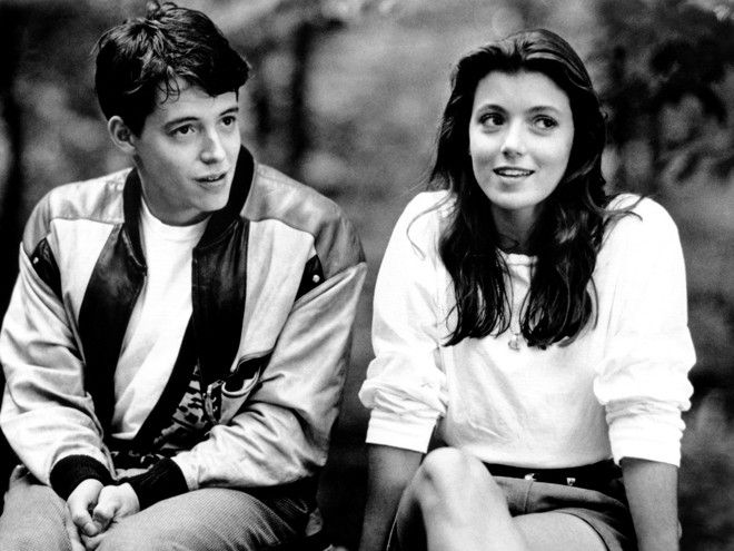 Mia Sara, Ferris' girlfriend.