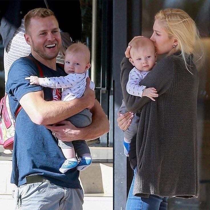 SPOTTED: Spencer and Heidi Pratt with their 4-month-old son Gunner at Barneys New York in Los Angeles (February 22). #SpencerPratt #HeidiPratt #MTV #TheHills #RealityShow #GunnerStonePratt #Barneys #BarneysNewYork #Shopping #LosAngeles