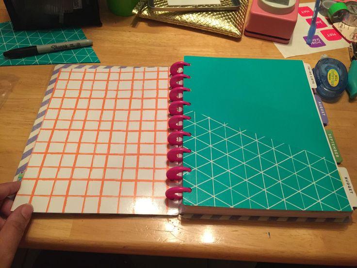 DIY Pocket Folders for The Happy Planner in under 10 steps!