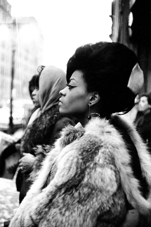 Diana Ross in NYC, 1965