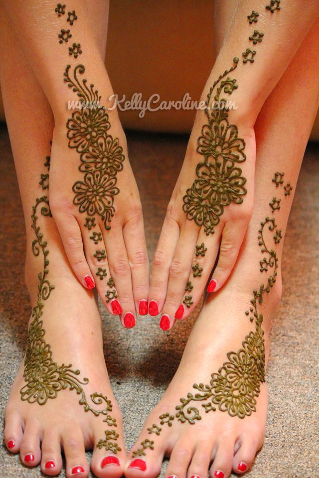 henna tattoos on hands and feet , manicure and pedicure ideas, henna designs
