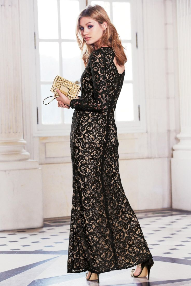 Next online party dresses - Buy Lace Maxi Dress From The Next Uk Online Shop
