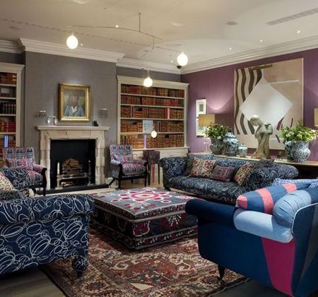 254 best images about kit kemp on pinterest design hotel for Best boutique hotels london