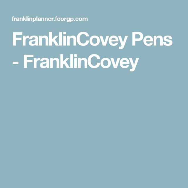 FranklinCovey Pens - FranklinCovey