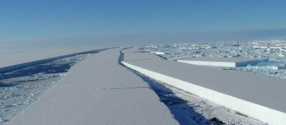 Volcanes subglaciares derriten el hielo antártico