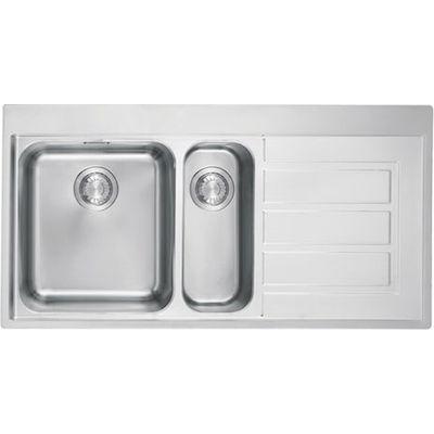 franke eox651r bowl sink sinks and stainless steel rh pinterest com