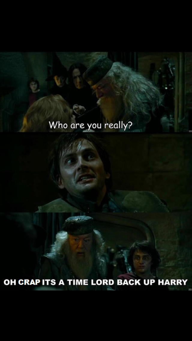 Doctor/ Barty Crouch Jr.