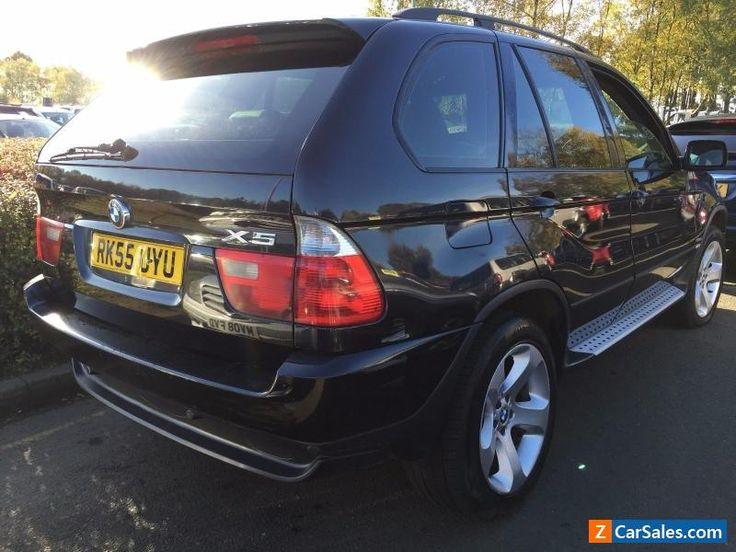 55 REG BMW X5 3.0D SPORT LEATHER SAT NAV PAN ROOF H/E/SEATS STUNNING SPEC #bmw #x5 #forsale #unitedkingdom