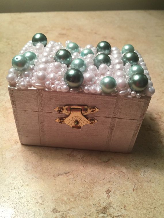 Vintage Ring Bearer Box/Proposal Box/Gift for by DazzlingsDesigns