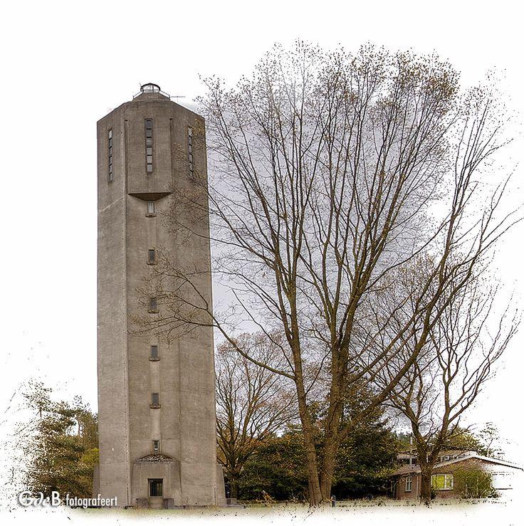 https://flic.kr/p/GknroE | watertoren van Kootwijk