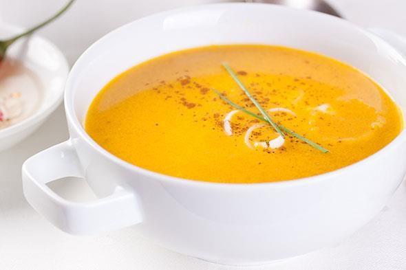 Recept gele paprikasoep met paprika
