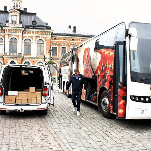 Today we're in Kuopio 10:00-17:00 🚌💨 #dermosilontour