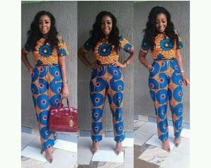 The creativity of African fashion designers brings thousands of Ankara styles to reality.
